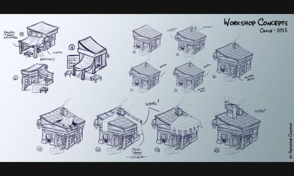 CHASE - Workshop Concepts by eimiko-chan