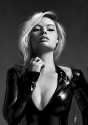 Margot Robbie by JoshSummana