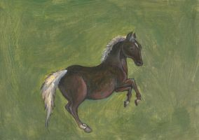 Whistlejacket by George Stubbs by Louisetheanimator