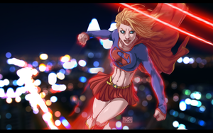 Supergirl by BlueB1rd666