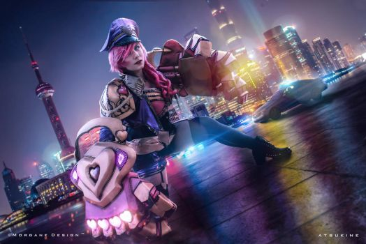 Vi PopStar - League of Legends - 2 by Atsukine-chan