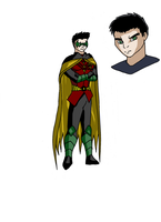 Batfamily: ROBIN IV by pipe07
