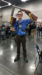KumoriCon 2016: This is my BOOMSTICK by Kudos707