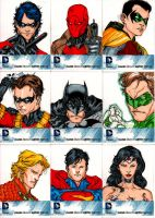 Cryptozoic DC universe color set1 by SpiderGuile