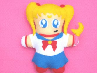 Sailor Moon Plush by aileenphua