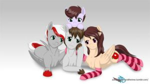 My ponies ocs! by FireAndRose