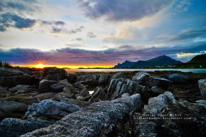 Midnight Sun by Tiefenschaerfe