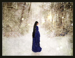 In the Wintry Woods of Doriath by LadyElleth