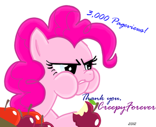 3000 Pageviews by CreepyForever
