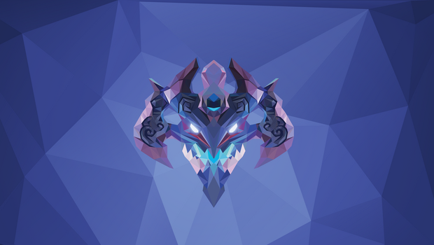 Visage Dota 2 Low Poly Art by giftmones