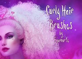 Curly Hair Brushes by Enamorte