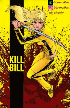 Beatrix Kiddo from Kill Bill by Brenofil