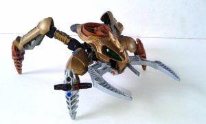 Horde King Ropoorax - Visorak - Bionicle MOC by Crimson-eyed-sermon