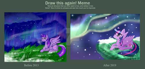 Before after meme 2019 by TwilightWolf91