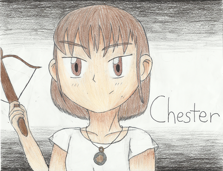 My OC: Chester by Animebot25