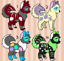 [OPEN] POINT DOG ADOPTS by crumcho-adopts