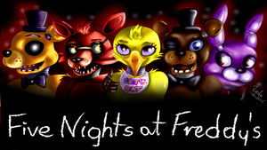 Five Nights at Freddy's - WALLPAPER by Julunis14