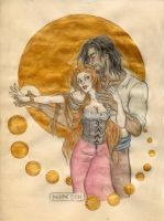 Special Valentine04-Cecilia and Bali by LadyDeddelit