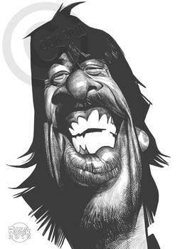 Dave Grohl by RussCook