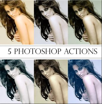 Photoshop Actions Pack 7 by ReehBR