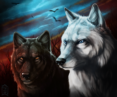 Commission: Delila and Zolf by Brevis--art