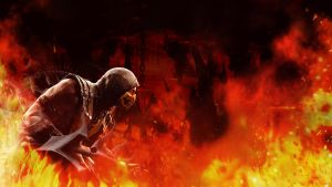 Mortal Kombat X: Scorpion Wallpaper 1920 x 1080 by Kothanos