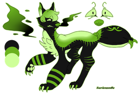 Toxic Paranoia (Custom D.D) by eerieN00dle