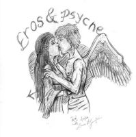 Eros and Psyche-Passion by Scribble-Chick