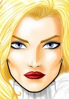 Emma Frost White Queen by Thuddleston