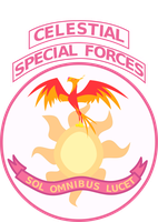 Celestial Special Forces Patch by tensaioni