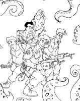 The Real Ghostbusters by ChewMyIntestines