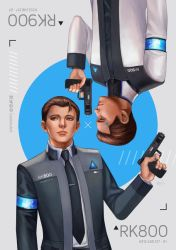Detroit Become Human - RK800 x RK900 by LeorenArt