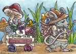 Moving Day Mouse ATC by emmadreamstar
