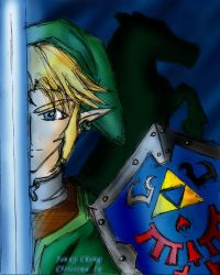 Collab: Knight of Hyrule by Kaelia