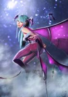 Morrigan - Starry Night by vividjudy