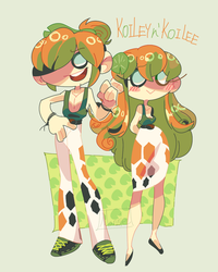 Koiley n' Koilee by Mannievelous