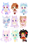 Winter adopts! OPEN! 3/9 by Adorelee
