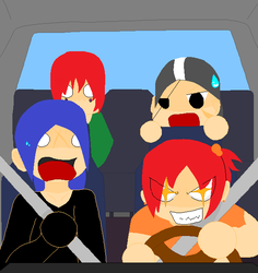 milly is a good driver by poppup