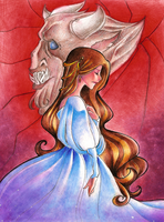 Beauty and the Beast by Tiuni