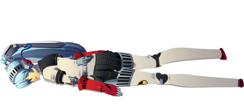 Labrys Laid Out 1 by FallenParty
