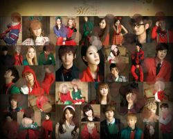 SMTown Merry Christmas by crystalSHINee4evr