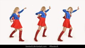 Supergirl  - Stock model reference pack 11 by faestock