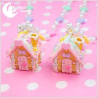 Candy house Necklace 2 by CuteMoonbunny