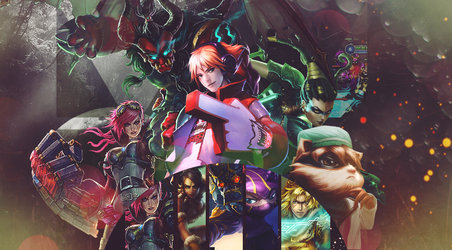 Wallpaper League of Legends by LeoBueno