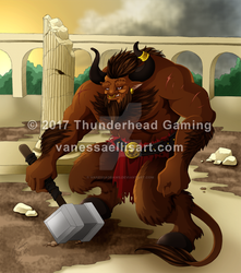 Commission:  Minotaur