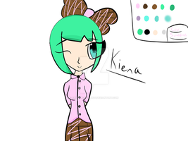 OC Kiena For Adopt!!! *real cheap* by amy-the-weeaboo