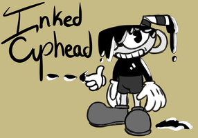 BATIM  inspired Cuphead by Glitched-Irken