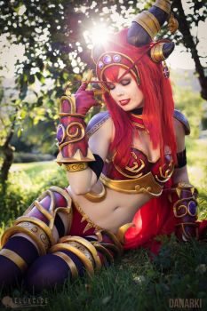 Alexstrasza Cosplay from World of Warcraft! by TineMarieRiis