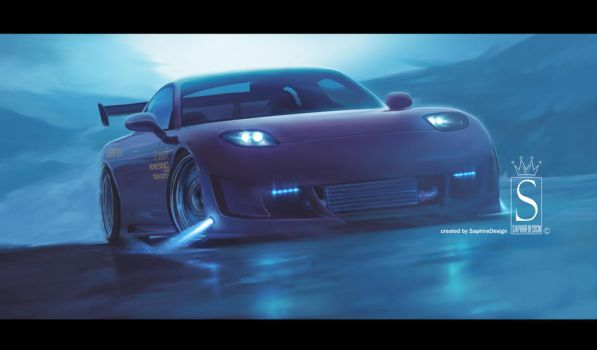 Mazda RX7 by SaphireDesign
