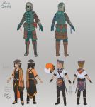 some char concepts by MarikBentusi